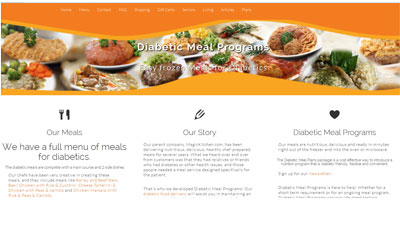 diabetic meals website